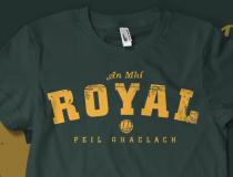 Vintage Meath 'Royal' Gaelic  Football T-shirt