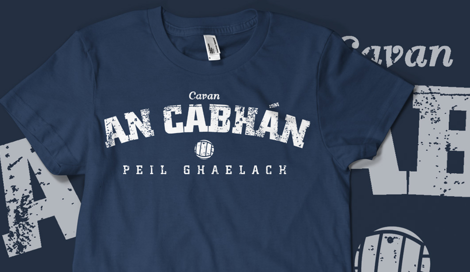 Vintage Cavan Gaelic Football T-shirt
