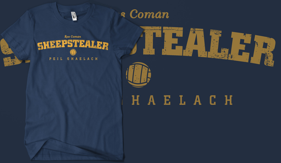 Vintage Roscommon Sheepstealer T-shirt