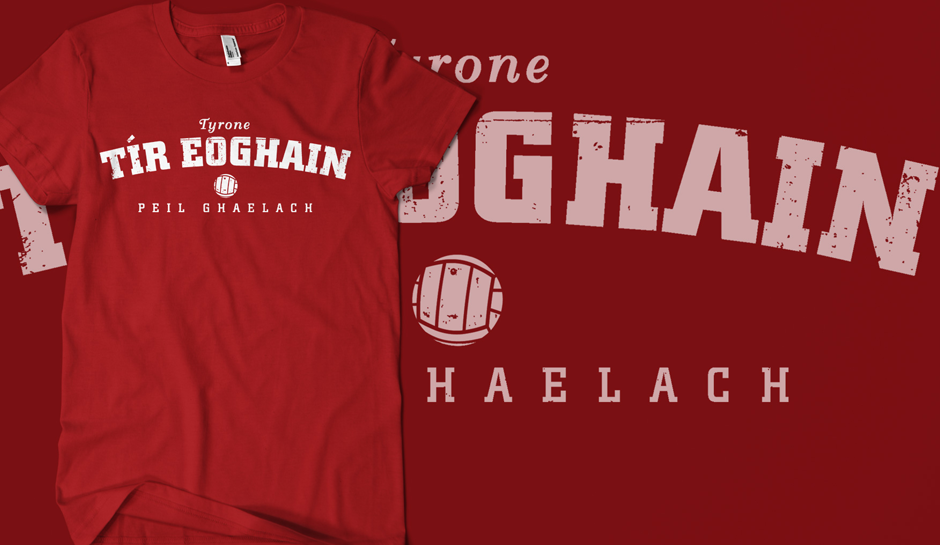 Vintage Tyrone Gaelic Football T-Shirt